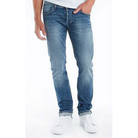 pantalon jean reg Teddy smith homme