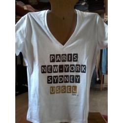 T-shirt femme Kapitales personnalisé USSEL