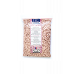 ND cire a epiler recyclable rose gouttelletes 1000g
