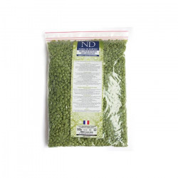 ND cire a epiler recyclable verte gouttelletes 1000 g
