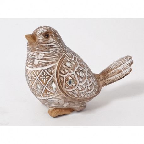 "Statuette oiseau en résine ""Laurene"""