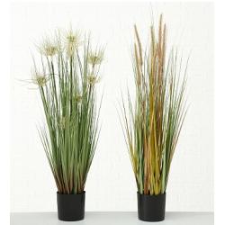 """Plante verte artificielle """"Herbe"""""""