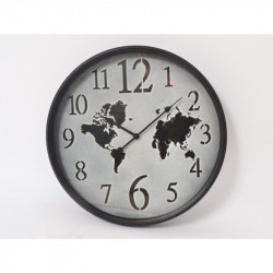 "Horloge mappemonde ""Tempo"""