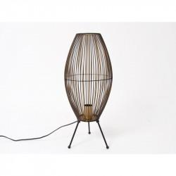 """Lampe ovale en métal """"Sphere"""""""