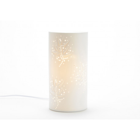 "Lampe d'ambiance en porcelaine""Helene"""