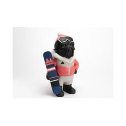 """Statuette chien"""" Surfeur des montagne"""""""