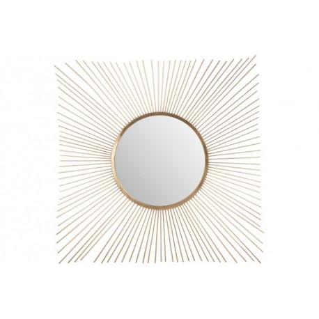 Miroir Rayon Soleil Métal