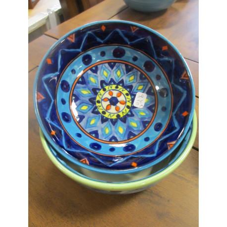 Coupelle céramique colorée