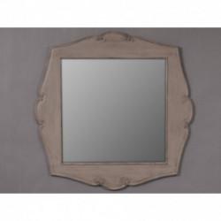 Miroir carré couleur taupe Influence