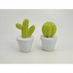Statuette cactus céramique 15cm GREEN