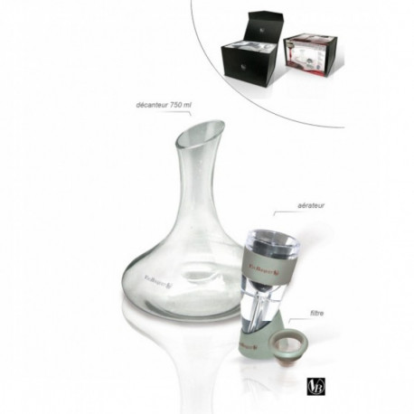 AERATEUR+CARAFE A DECANTER