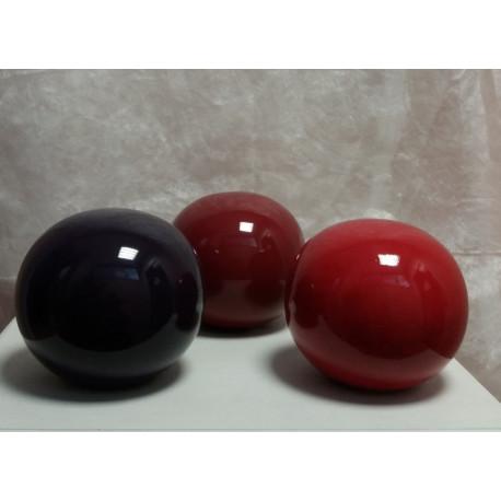 Boules en dégradé de rouge