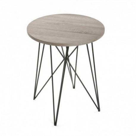 Table auxiliere couleur chêne AURORA