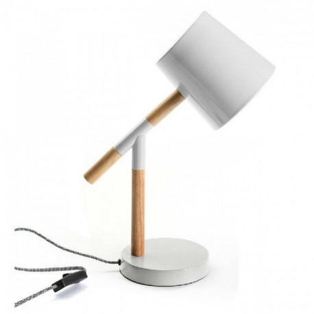 Lampe de Table Sylvia Bois/Métal