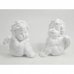 Statuette anges assis RAFFAEL