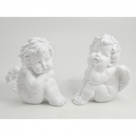 Statuette anges assis RAFFAEL
