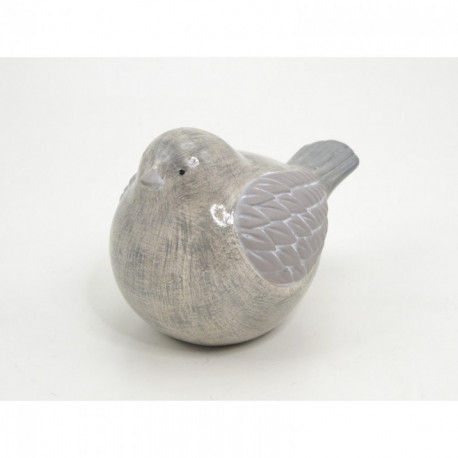 Statuette oiseau céramique EUREKA