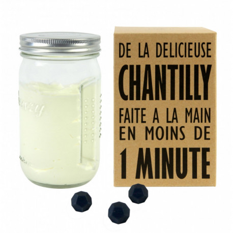 SHAKER À CHANTILLY CREAZY