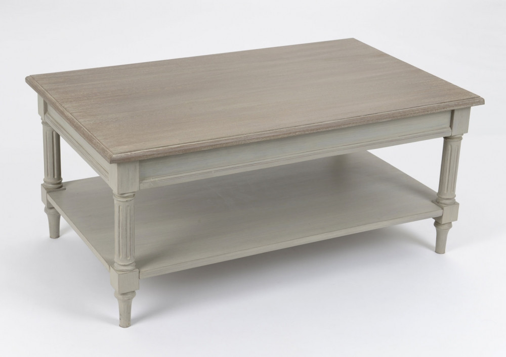 Table basse couleur taupe Edouard