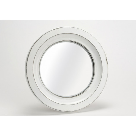 Miroir de sorciere 31cm blanc