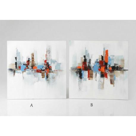 Peinture abstraites colorées 2D
