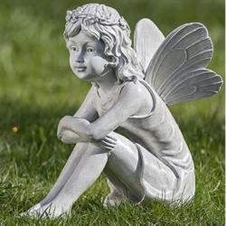 Statuette de jardin fée Elfe Luena