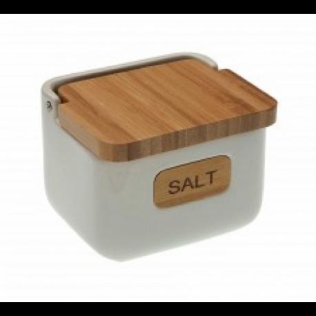 "Boite à sel ""SALT"" BAMBOU"
