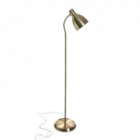 Lampe laiton sur pied de couleur or