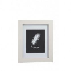 Cadre 20 X 25 cm Mdf Blanc