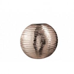 Vase Strie Aluminium Cuivre