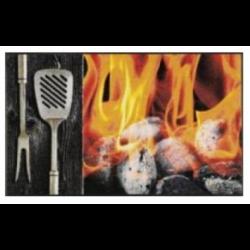Tapis Smokey flames