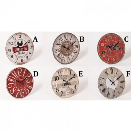 TEMPO horloge 34 cm