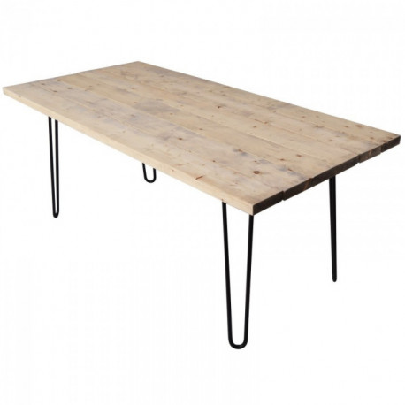 Table en pin 180 x 85 cm FOREST